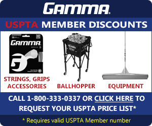 Gamma USPTA price list