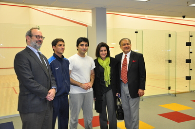 Josh Osteroff, Farhan Zaman, Arshad Burki, Dr. Jamila Khalil, Mahmud Jafri.jpg