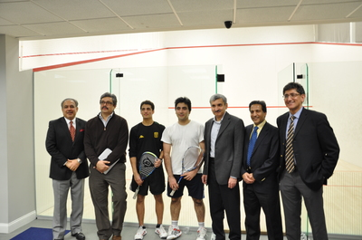 Squash team with Board of Advisors.jpg