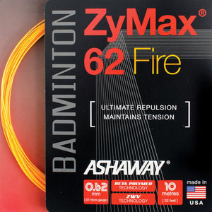 Ashaway introduces ZyMax 62 Fire