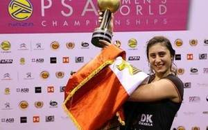 El-Sherbini new world number one