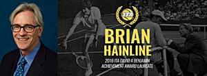 Hainline to receive achievement award