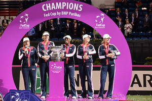 U.S. Wins First Fed Cup Title Since 2000