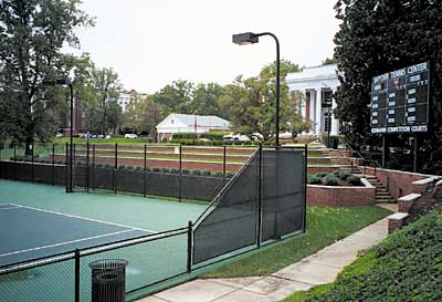University of Virginia tennis courts