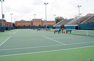 University of Floria tennis courts