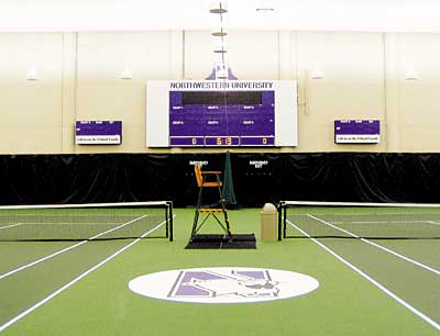 Northwestern University tennis courts