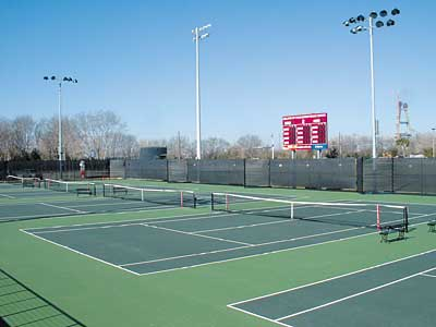 College of Charleston tennis courts