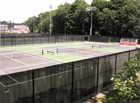 Corash Tennis Courts at Clark University