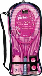 Barbie tennis products