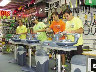 Racquet World in Miami, Florida