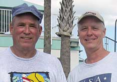 Don Cleveland and Doug Booth, USTA Florida