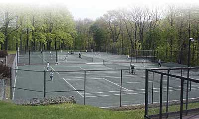 keep your tennis court clean