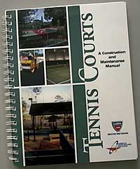 Tennis court construction manual