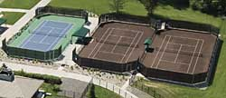 Columbine Country Club clay courts