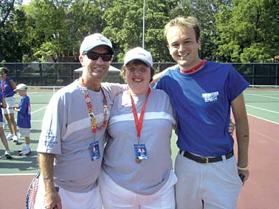 community tennis in Delaware
