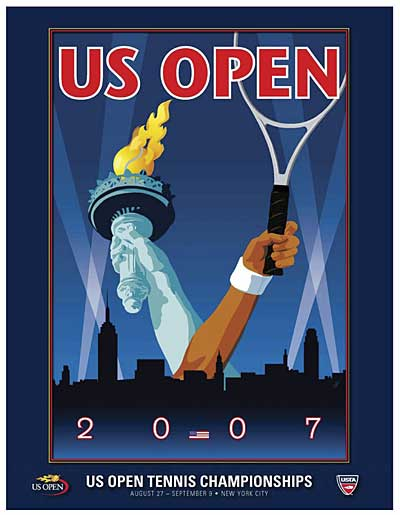 2007 US Open poster