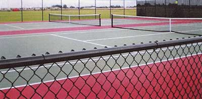 Maize Middle School Tennis Complex