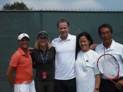 McEnroe and Austin USPTA certification
