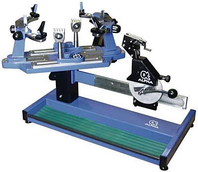 alpha equinox stringing machine