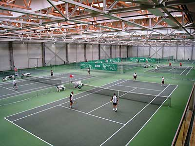 Lithuanian National Tennis Complex in Vilnius