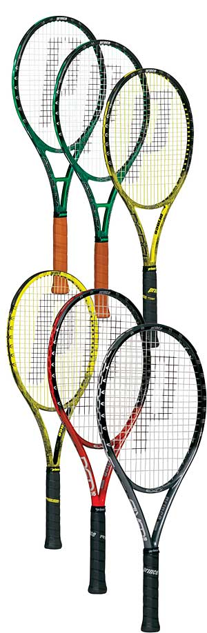 Prince EXO racquets