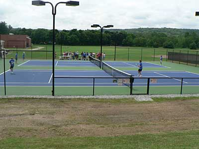 Woodbury, CT tennis courts