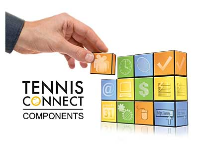 TennisConnect building blocks