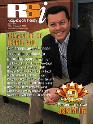 Racquet Sports Industry magazine, January 2011